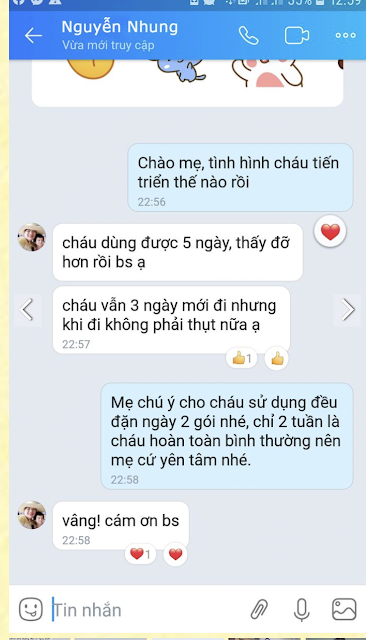 review cua khach hang sau dung momby fib