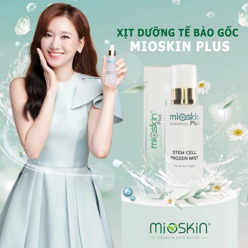 Review xịt khoáng Mioskin Plus Hàn Quốc có tốt không? Mua chính hãng ở đâu?