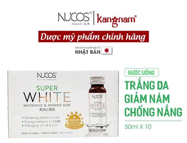 3.3 Nước uống Collagen Nucos Super White
