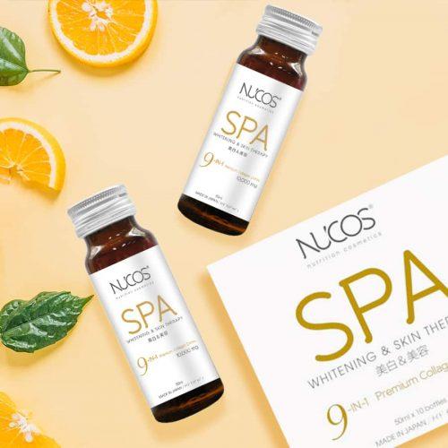 Review nước uống collagen nucos spa làm trắng da có tốt không? Giá Bao Nhiêu? Mua Ở Đâu Chính Hãng?