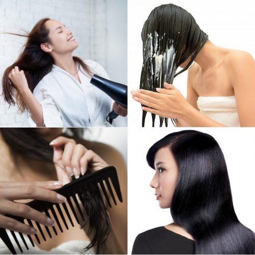 10 Cách chăm sóc tóc đúng cách tại nhà để có mái tóc đẹp bồng bềng