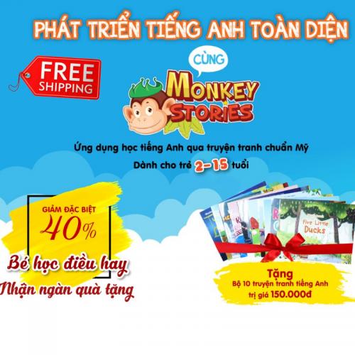 REVIEW Monkey Stories có tốt không? Giá bao nhiêu? Dành cho bé mấy tuổi? Mua ở đâu giá rẻ?